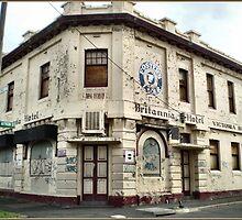Vandalised Hotel - Williamstown, Vic by EdsMum
