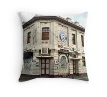 Vandalised Hotel - Williamstown, Vic Throw Pillow