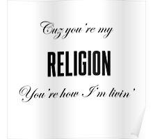 Lana Del Rey Religion Poster