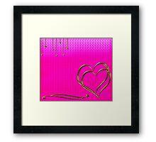 valentine day Framed Print