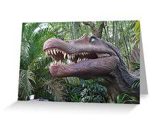 Spinosaurus Jurassic Park Greeting Card