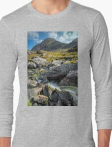 Clouds Over Tryfan Long Sleeve T-Shirt