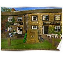 Wharfedale Tea Shop --Burnsall Poster