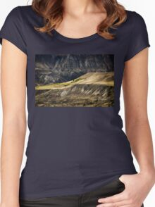 Ashcroft Badlands - British Columbia Women's Fitted Scoop T-Shirt