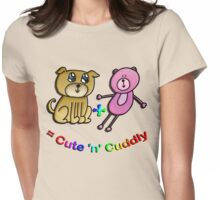 Cute  & cuddly Womens Fitted T-Shirt