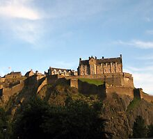 Edinburgh Castle by RSMphotography