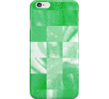 Baby Green Marble Quilt II iPhone Case/Skin