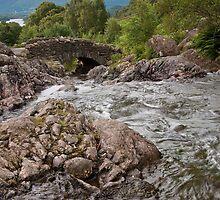 Ashness Bridge - Lake District by Bartosz Chajek