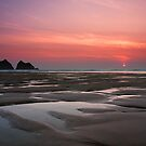 Cornwall - sunset by Bartosz Chajek