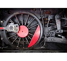 Train Wheel  Photographic Print