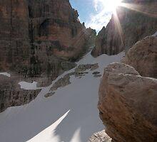 Camosci glacier by Bartosz Chajek