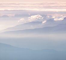 Dolomites - early morning - Rifugio Pedrotti by Bartosz Chajek