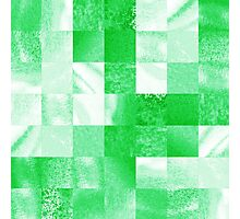 Baby Green Marble Quilt  Photographic Print