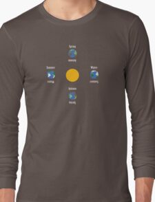 Seasons and the Earth Long Sleeve T-Shirt