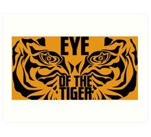 Eye of the tiger - Rocky Balboa Art Print