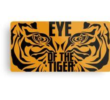 Eye of the tiger - Rocky Balboa Metal Print