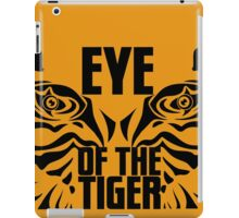 Eye of the tiger - Rocky Balboa iPad Case/Skin