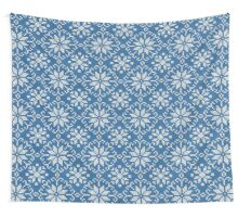 Knitted winter jacquard Wall Tapestry
