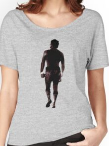 Rocky Balboa back Women's Relaxed Fit T-Shirt