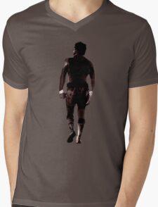 Rocky Balboa back Mens V-Neck T-Shirt