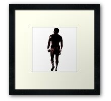 Boxing legend Framed Print