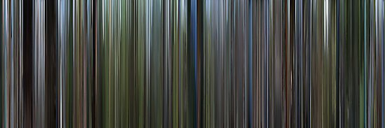 Moviebarcode: The Thin Red Line (1998) by moviebarcode