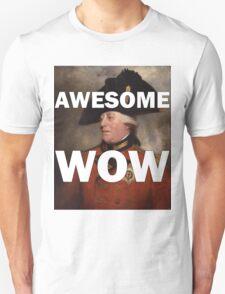 Awesome Wow Hamilton King George III T-Shirt