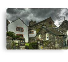 Hawkshead,Cumbria Canvas Print
