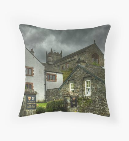 Hawkshead,Cumbria Throw Pillow
