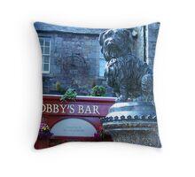 Greyfriars Bobby - Edinburgh, Scotland Throw Pillow