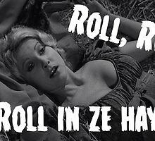 Roll in ze hay! by ablastedtree