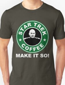 Star Trek Coffee - Make it So! Unisex T-Shirt