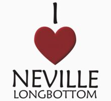 I love Neville Longbottom Kids Clothes