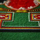 detail, sand mandala. melbourne, australia by tim buckley | bodhiimages