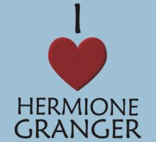 I love Hermione Granger Kids Clothes