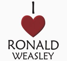 I love Ronald Weasley by eggnog