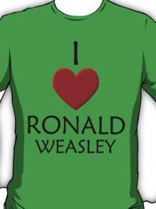 I love Ronald Weasley T-Shirt