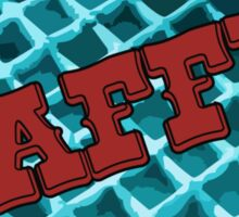 The Blue Waffle - Bar & Grill Sticker