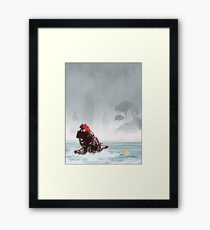 My Rubber Ducky Framed Print