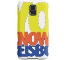 Yo Knows Samsung Galaxy Case/Skin