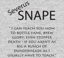 Severus Snape Quote Kids Clothes