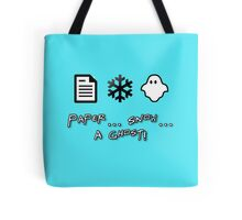 Paper... Snow.. A Ghost! Tote Bag