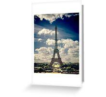 Paris 84 Greeting Card