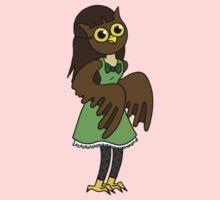Masked Girl - Owl by Angel Szafranko