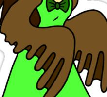 Masked Girl - Owl Sticker
