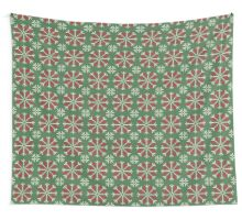 Knitted Christmas jacquard Wall Tapestry