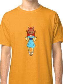 Masked Girl - Fox Classic T-Shirt