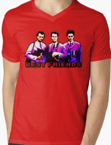 Best Friends - Spooks, Spectres, and Ghosts Mens V-Neck T-Shirt