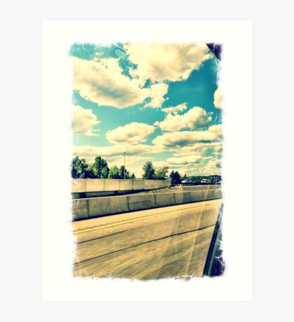Garden State Parkway - The Way Home Art Print