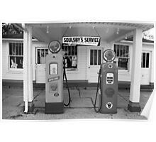Route 66 - Soulsby Service Station Poster